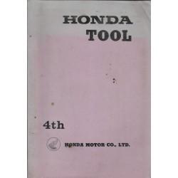 HONDA (catalogue outils spécifiques 4° édition 01 / 1969)