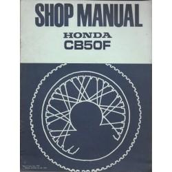 HONDA CB 50 F (manuel atelier additif 04 / 1978)
