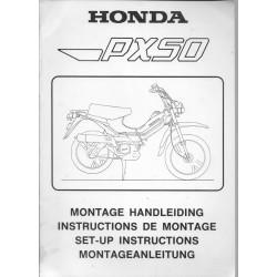 HONDA PX (manuel assemblage)