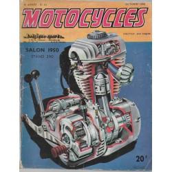 MOTOCYCLES n° 43 Spécial Salon 1950