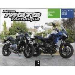 RMT 191: Kawasaki Z 650 (2017/19) / Yamaha MT- 07 Tracer