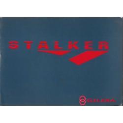 GILERA 50 STALKER (manuel utilisateur français / anglais)