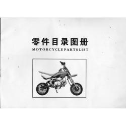 Dirt Bike 110cc (catalogue de pièces)