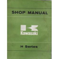 KAWASAKI H1 (1969-1974) - ) -H2 (1972 - 1974)