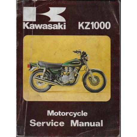 KAWASAKI KZ 1000 et Z1R (manuel atelier en anglais)