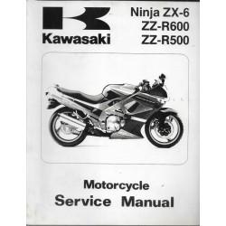 KAWASAKI ZZ-R 600 de 1990 à 1993 (09 / 1997)