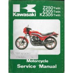 Manuel atelier KAWASAKI Z 250 / KZ 305 (11 / 1992)