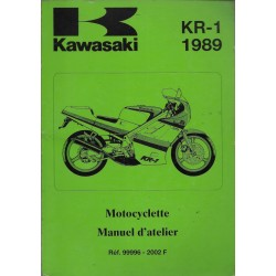 KAWASAKI KR-1 de 1988 et 1989 (Manuel atelier)