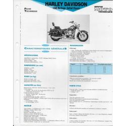 HARLEY DAVIDSON 1340 Héritage Softail Classic de 1992
