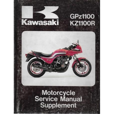 Manuel atelier KAWASAKI GPZ 1100 / KZ 1100 R (07/1991)