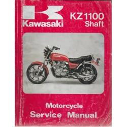 Manuel atelier KAWASAKI KZ 1100 à cardan de 1981 à 1985