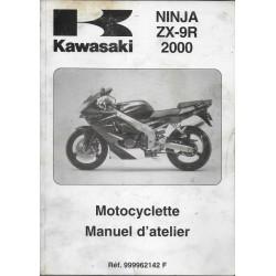 Manuel atelier KAWASAKI ZX-9R de 2000