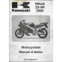 Manuel atelier KAWASAKI Ninja ZX-9R de 2000