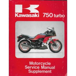 Manuel atelier KAWASAKI 750 TURBO 1984/85 (12 / 1991)