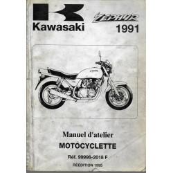 KAWASAKI ZEPHYR 750 de 1991 à 1995 (manuel atelier)