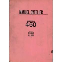 HONDA CB 450 / CL 450 (Manuel de base) novembre 1968