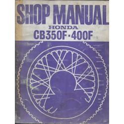 HONDA CB 350 / 400 Four (manuel atelier en anglais 10 / 76)