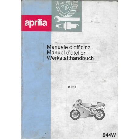 APRILIA RS 250 (manuel atelier 1998)