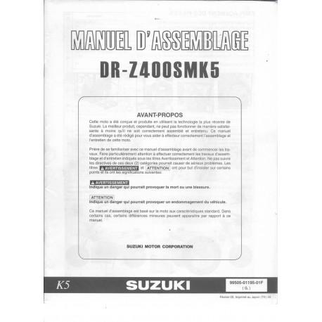 SUZUKI DR-Z 400 SM K5 (manuel assemblage 02 / 2005)
