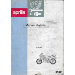 APRILIA RSV 1000 (2000) manuel atelier