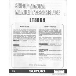 SUZUKI LT 80 K4 de 2004 (Manuel de montage 11/ 2002)