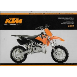 KTM 50 Mini / Junior / Senior Adventure de 2002