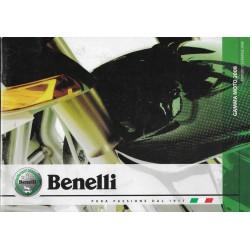 BENELLI (Catalogue Gamme Motos 2008)