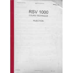 APRILIA RSV 1000 (cours technique - injection)