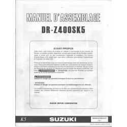 SUZUKI DR-Z 400 S K5 (manuel assemblage 06 / 2004)