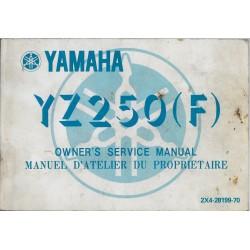 YAMAHA YZ 250 (F) type 2X4 de 1979