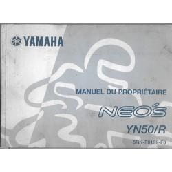 YAMAHA Néo's YN50/R type 5RN de 2011 (Manuel propriétaire janvier 2011)