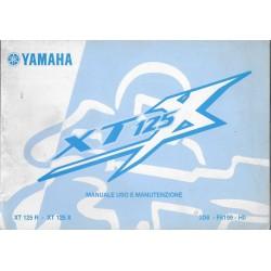 YAMAHA XT 125 X (type 3D6 modèle 2006)