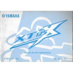 YAMAHA XT 125 X / XT 125 R de 2006 (manuel en portugais)