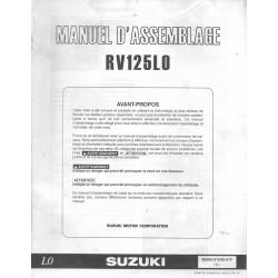 SUZUKI RV 125 L0 de 2010 (Catalogue pièces 07 / 2009)