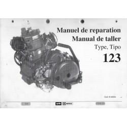 APRILIA ROTAX type 123 (manuel atelier 01 / 1989)