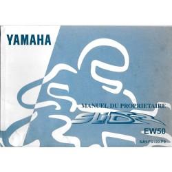 YAMAHA EW 50 (type 5JH) imprimé en juillet 1999