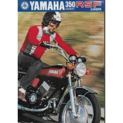 YAMAHA 350 R5F Europa (Prospectus)