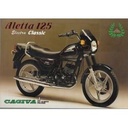 CAGIVA ALETTA 125 Electra Classic (prospectus)