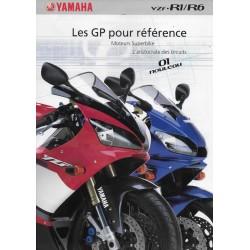 YAMAHA YZF-R1 / R6 (prospectus de 2001)