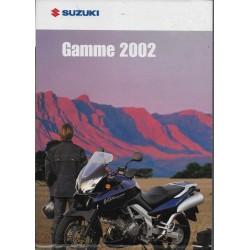 SUZUKI modèles 2002 (Prospectus)