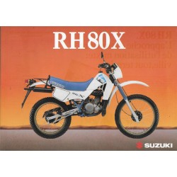 SUZUKI RH 80 X (Prospectus)