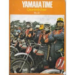 YAMAHA 1972 (bulletin interne réseau n° 10 de 1972)