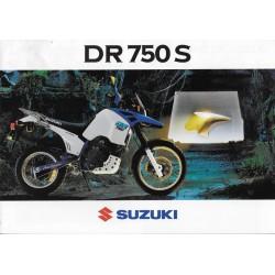SUZUKI DR 750 S (Prospectus)
