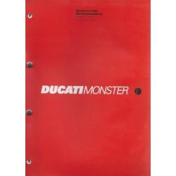 DUCATI MONSTER 900 I.e. de 2002 (manuel atelier 12 / 02)