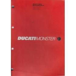 DUCATI MONSTER 620 / 750 I.e. de 2002 (manuel atelier 07/02)