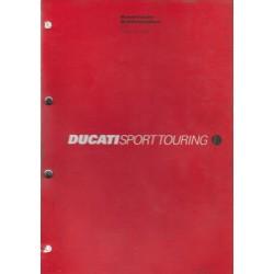 DUCATI ST4s de 2002 (manuel atelier 11 / 2002)