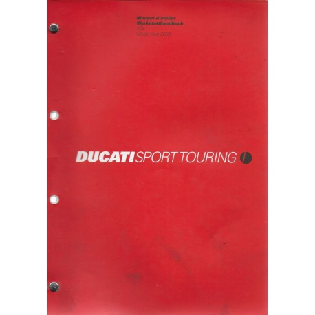 DUCATI ST4 de 2003 (manuel atelier 03 / 2003)