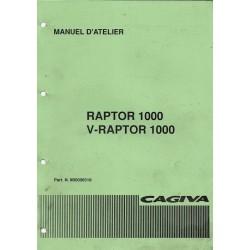 CAGIVA 1000 Raptor / V-Raptor (manuel atelier en français)