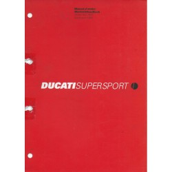 DUCATI Supersport 1000 de 2003 (manuel atelier 06 / 2003)