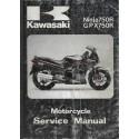 KAWASAKI NINJA 750 R / GPX 750 R (manuel atelier additif)